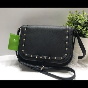 New Kate Spade jeweled Leather crossbody bag